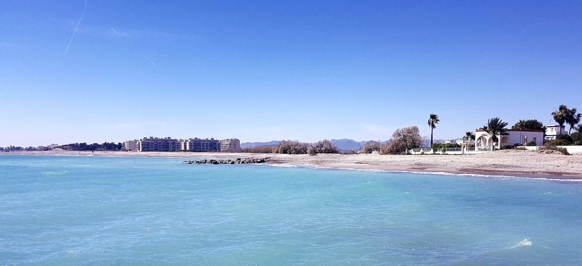 Vistas de la playa de Moncofa, Castellón